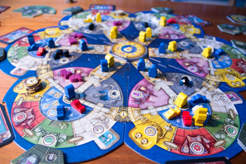 AquaSphere - Spielszene