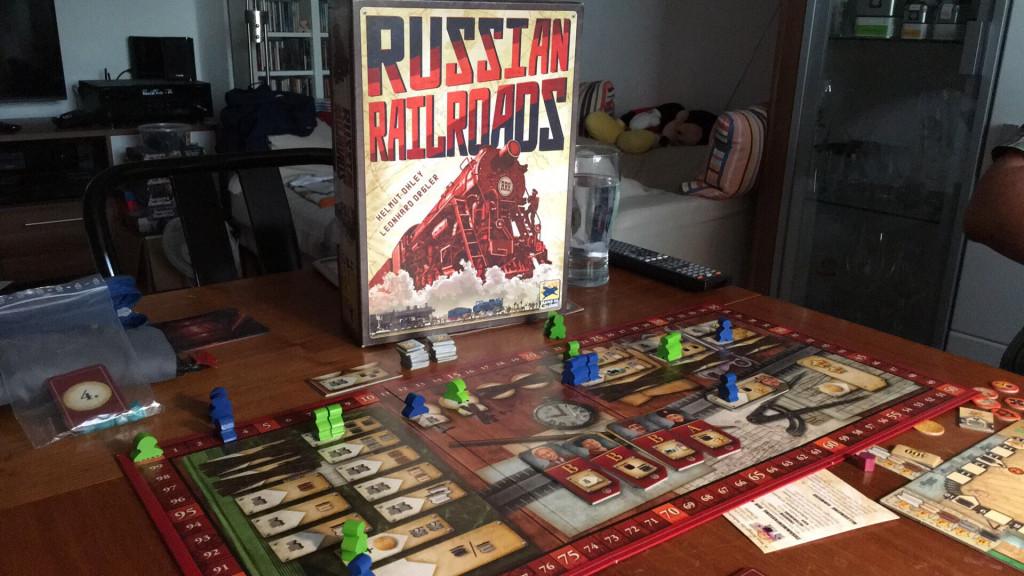 Russian Railroads - Spielmaterial