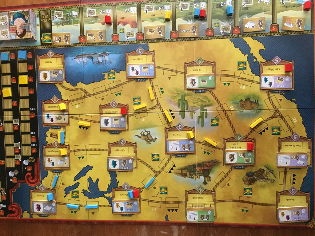 Railroad Revolution - Spielplan