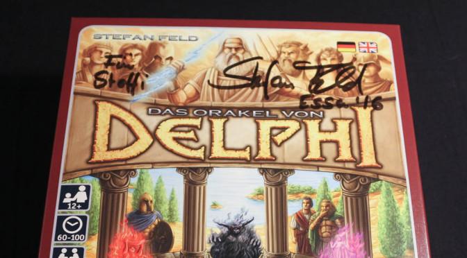 Das Orakel von Delphi – Rezension ist online