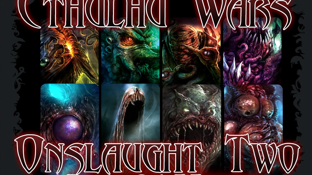 Cthulhu Wars: Onslaught Two – Unboxing Video