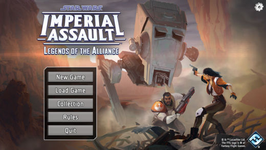 Imperial Assault App erschienen!