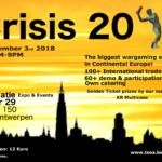 Crisis 2018 Wargaming Convention