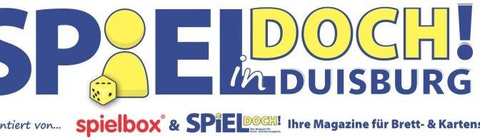SPIEL DOCH! in Duisburg 2019 - Logo