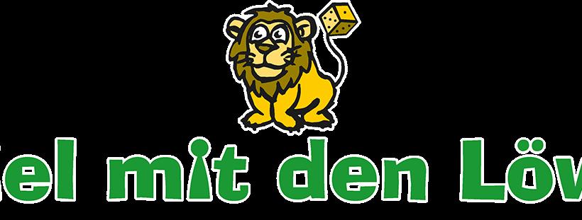 Spiel mit den Löwen - Logo