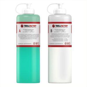 TFC Silikon Kautschuk Typ 1 I Premium Dubliersilikon weich I 2 kg (2 x 1 kg)